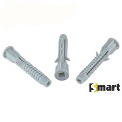 Дюбель універсальний з чотирьма розширюючими сегментами та буртиком (OUP)